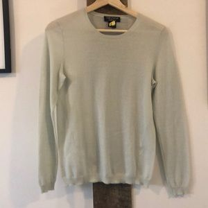Thin Pale Green Cashmere Long Sleeve!